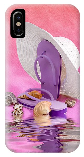 A Day At The Beach Still Life IPhone Case