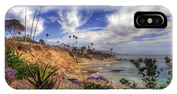A Day In Laguna Beach IPhone Case