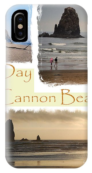 A Day On Cannon Beach IPhone Case