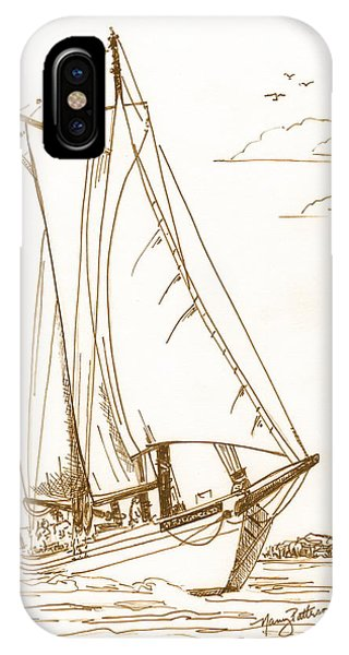 A Day On The Bay IPhone Case