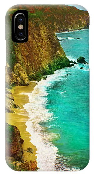 A Day On The Ocean IPhone Case