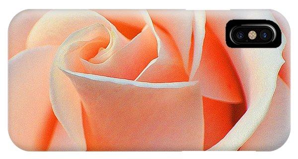 A Delicate Rose IPhone Case