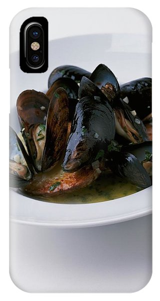 A Dish Of Mussels IPhone Case