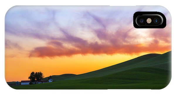 A Dragon's Sunset IPhone Case