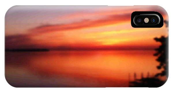 A Dreamy Sunset On The Midwestern Riviera IPhone Case