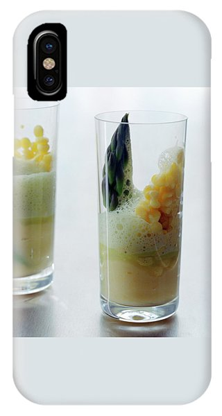 Asparagus iPhone Case - A Drink With Asparagus by Romulo Yanes