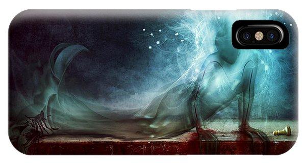 Death iPhone Case - A Dying Wish by Mario Sanchez Nevado