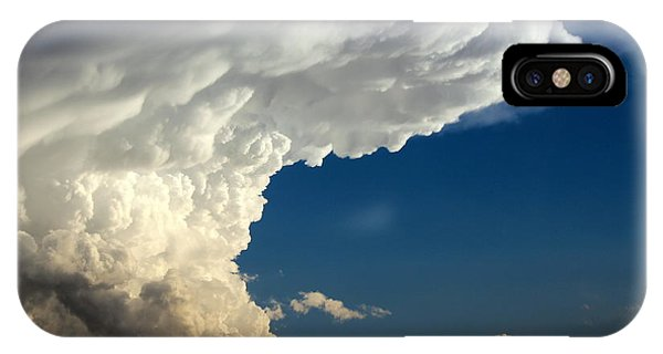 Buy Art Online iPhone Case - A Face In The Clouds by Barbara Chichester