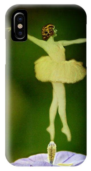 A Fairy In The Garden IPhone Case