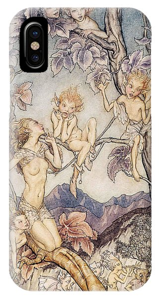 A Fairy Song From A Midsummer Nights Dream IPhone Case