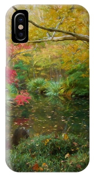 A Fall Afternoon IPhone Case