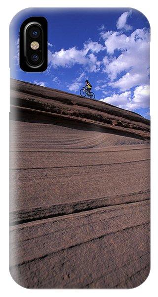 It Professional iPhone Case - A Female Mountain Biker Mountain Biking by Corey Rich
