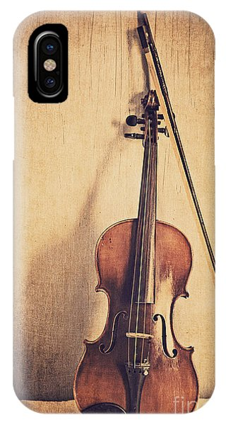 Violin iPhone X / XS Case - A Fiddle by Emily Kay