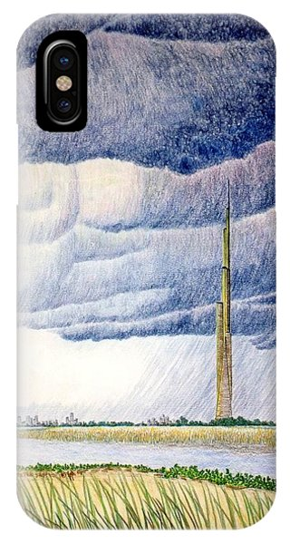 A Finger To The Sky IPhone Case