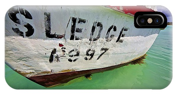 A Fishing Boat Named Sledge IPhone Case