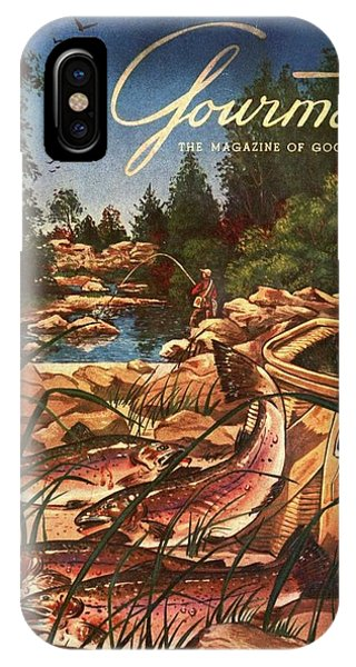 A Fishing Scene IPhone Case