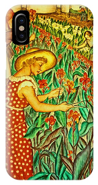 A Flower Harvest IPhone Case