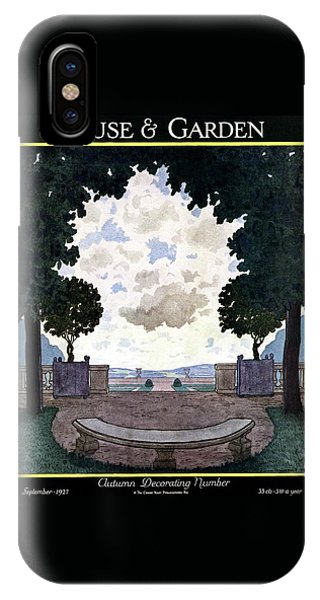 A French Formal Garden IPhone Case