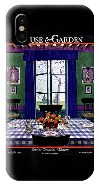 A French Provincial Dining Room IPhone Case