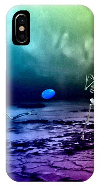 A Friendly Game Of Frisbee IPhone Case