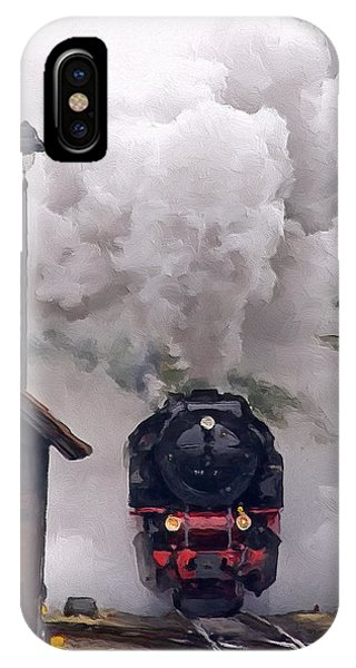 A Full Head Of Steam IPhone Case