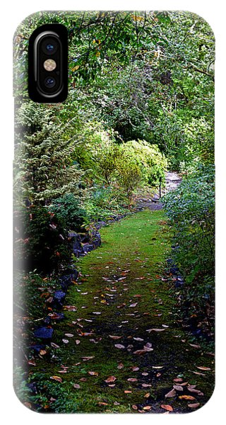 A Garden Path IPhone Case