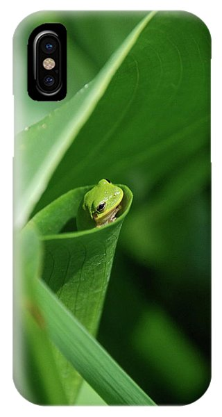 A Gardens Pocket IPhone Case