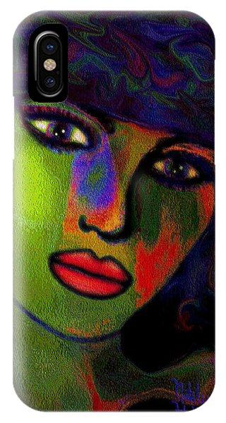 A Girl IPhone Case