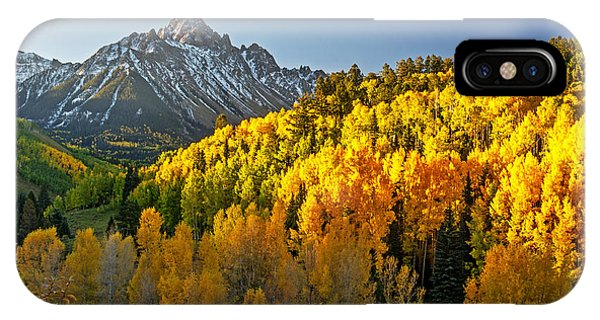 A Golden Fall Day In Colorado IPhone Case