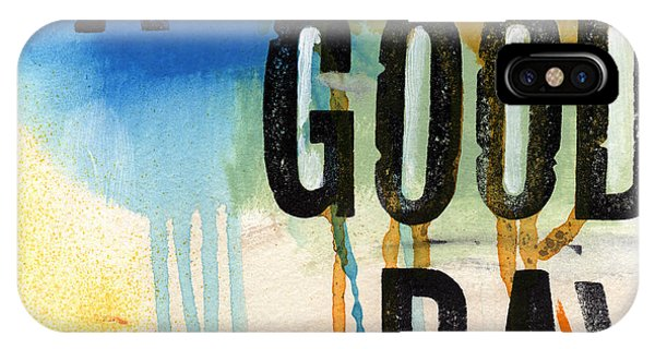 A Good Day- Abstract Painting  IPhone Case