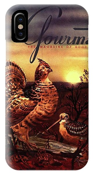 A Gourmet Cover Of A Turkey IPhone Case