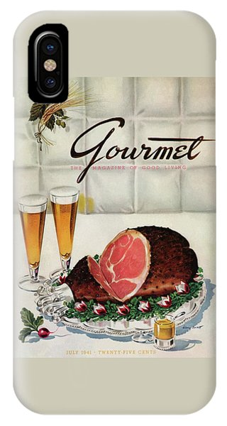A Gourmet Cover Of Ham IPhone Case