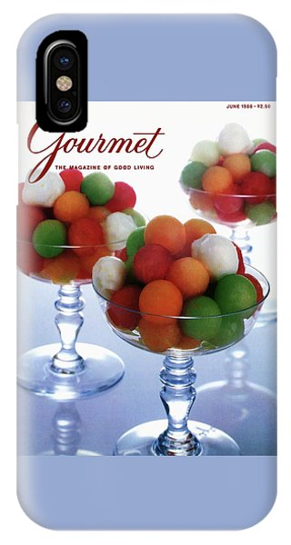 A Gourmet Cover Of Melon Balls IPhone X Case