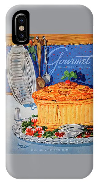 A Gourmet Cover Of Pate En Croute IPhone Case