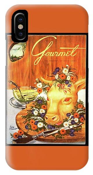A Gourmet Cover Of Tete De Veau IPhone Case