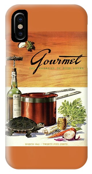 A Gourmet Cover Of Turtle Soup Ingredients IPhone Case