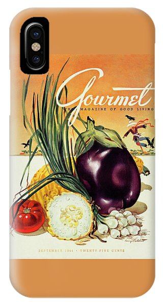 A Gourmet Cover Of Vegetables IPhone Case