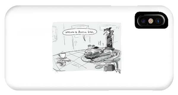 A Greasy Plate Of Pancakes IPhone Case