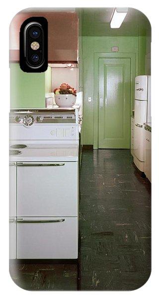 A Green Kitchen IPhone Case