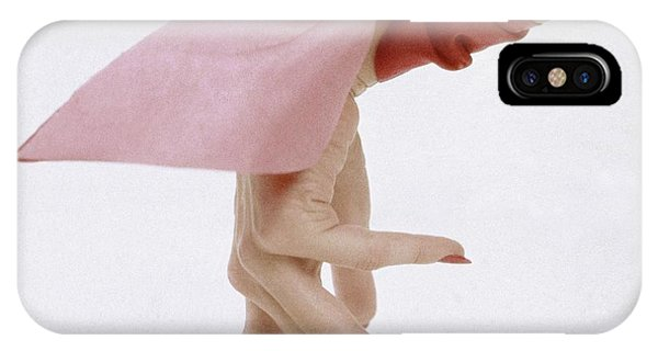 A Hand With A Wrist Scarf IPhone Case
