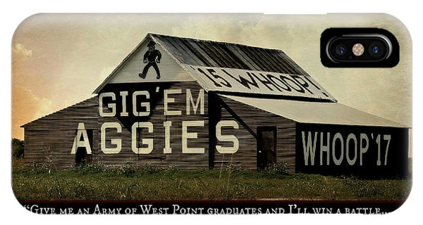 Aggie iPhone Case - A Handful Of Aggies by Stephen Stookey
