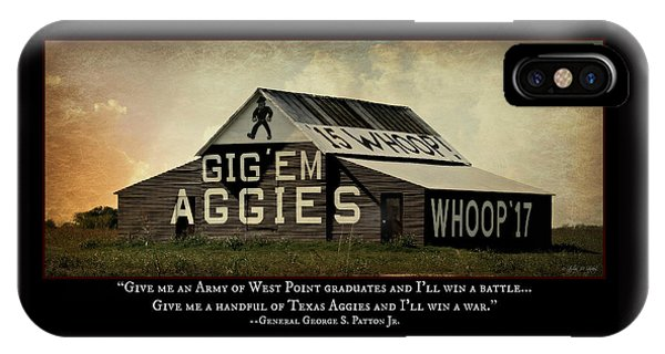A Handful Of Aggies IPhone Case