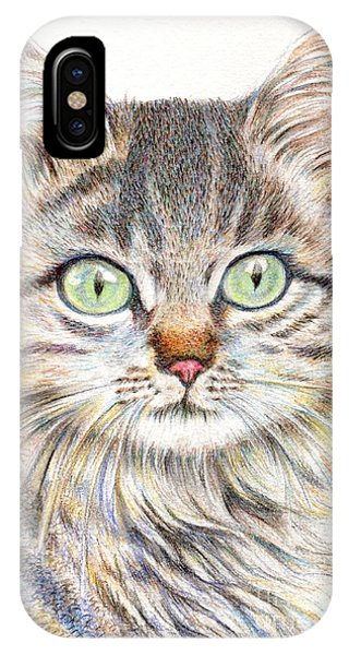 A Handsome Cat  IPhone Case