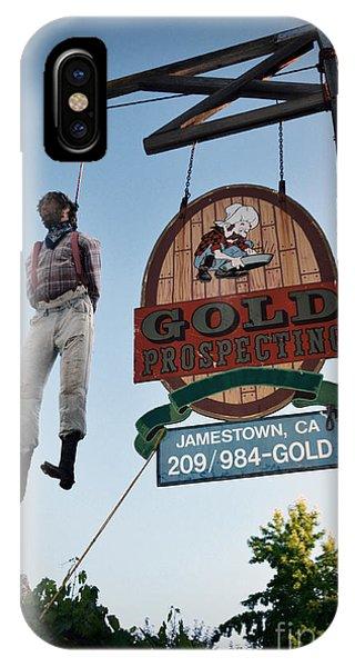 A Hanged Man In Jamestown IPhone Case