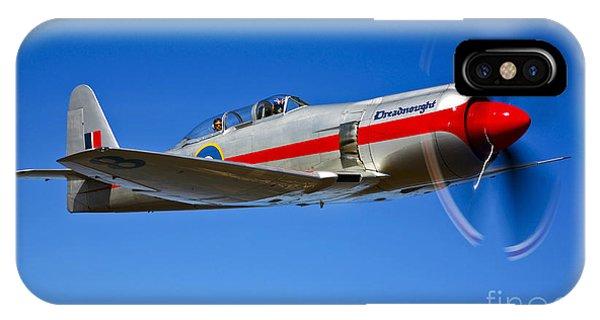 A Hawker Sea Fury T.mk.20 Dreadnought IPhone Case