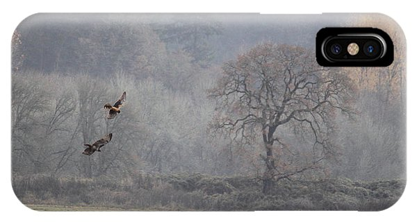 Red Tail Hawk iPhone Case - A Hawk's Paradise by Angie Vogel