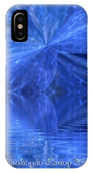 A Healing In Blue Living Waters IPhone Case