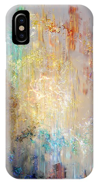 IPhone Case featuring the painting A Heart So Big - Abstract Art by Jaison Cianelli