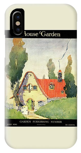 A House And Garden Cover Of A Cottage IPhone Case