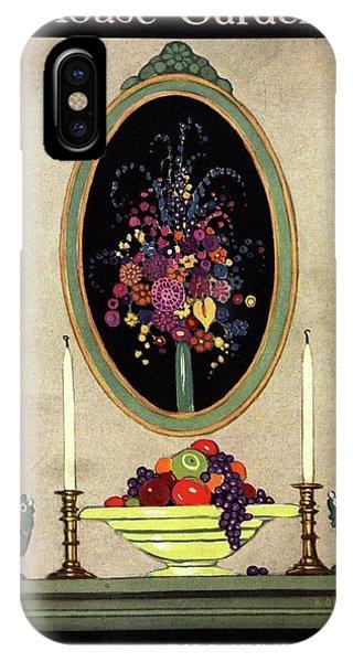 A House And Garden Cover Of A Mantelpiece IPhone Case